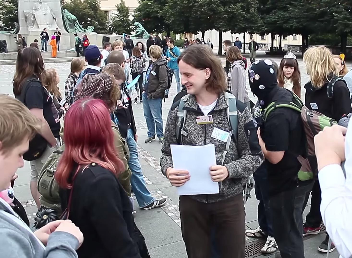 LARP 2015 - Palackého náměstí