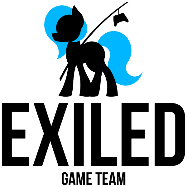 Exiled Game Team - logo black