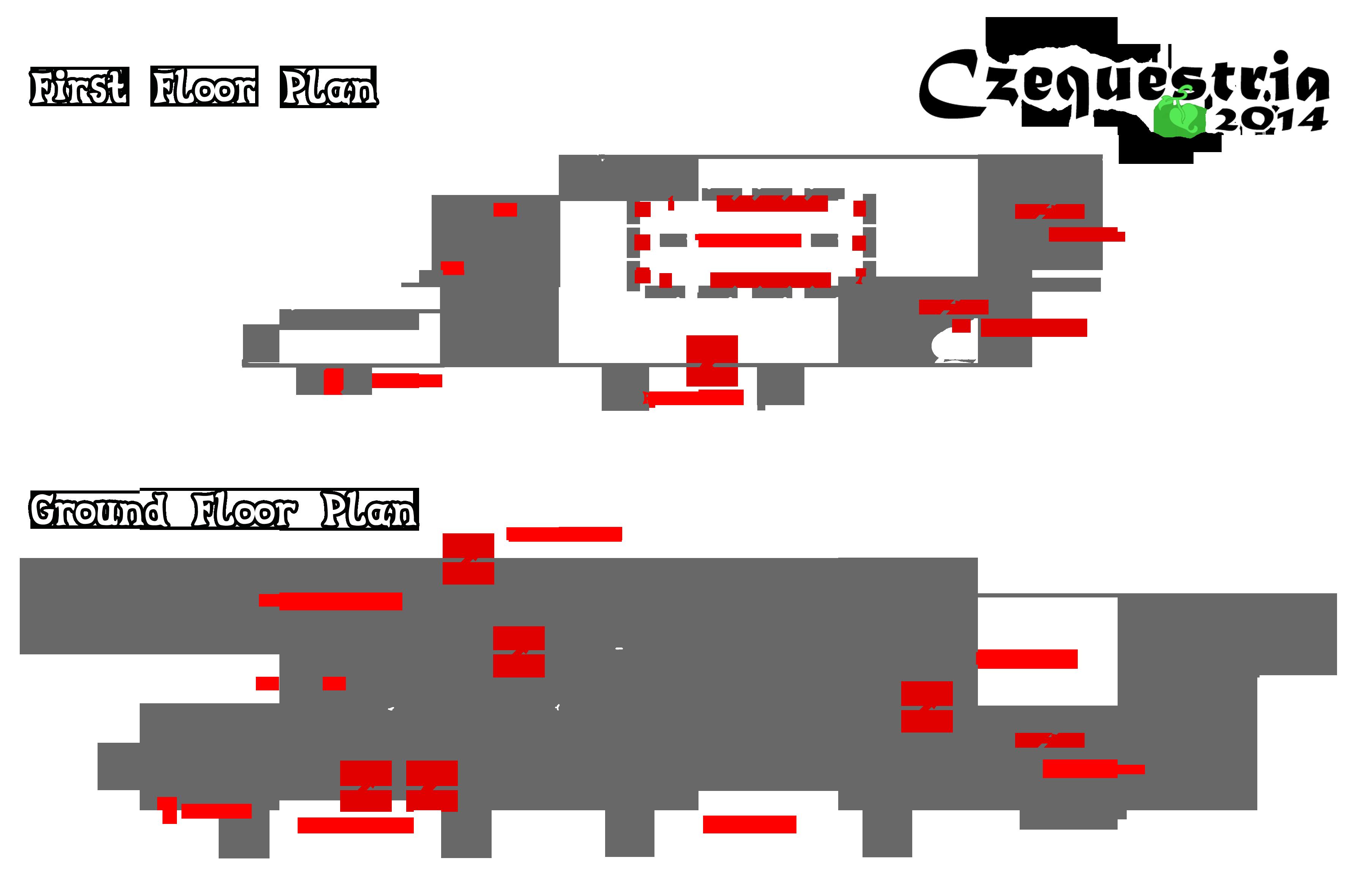 Czequestria 2014 - venue plan