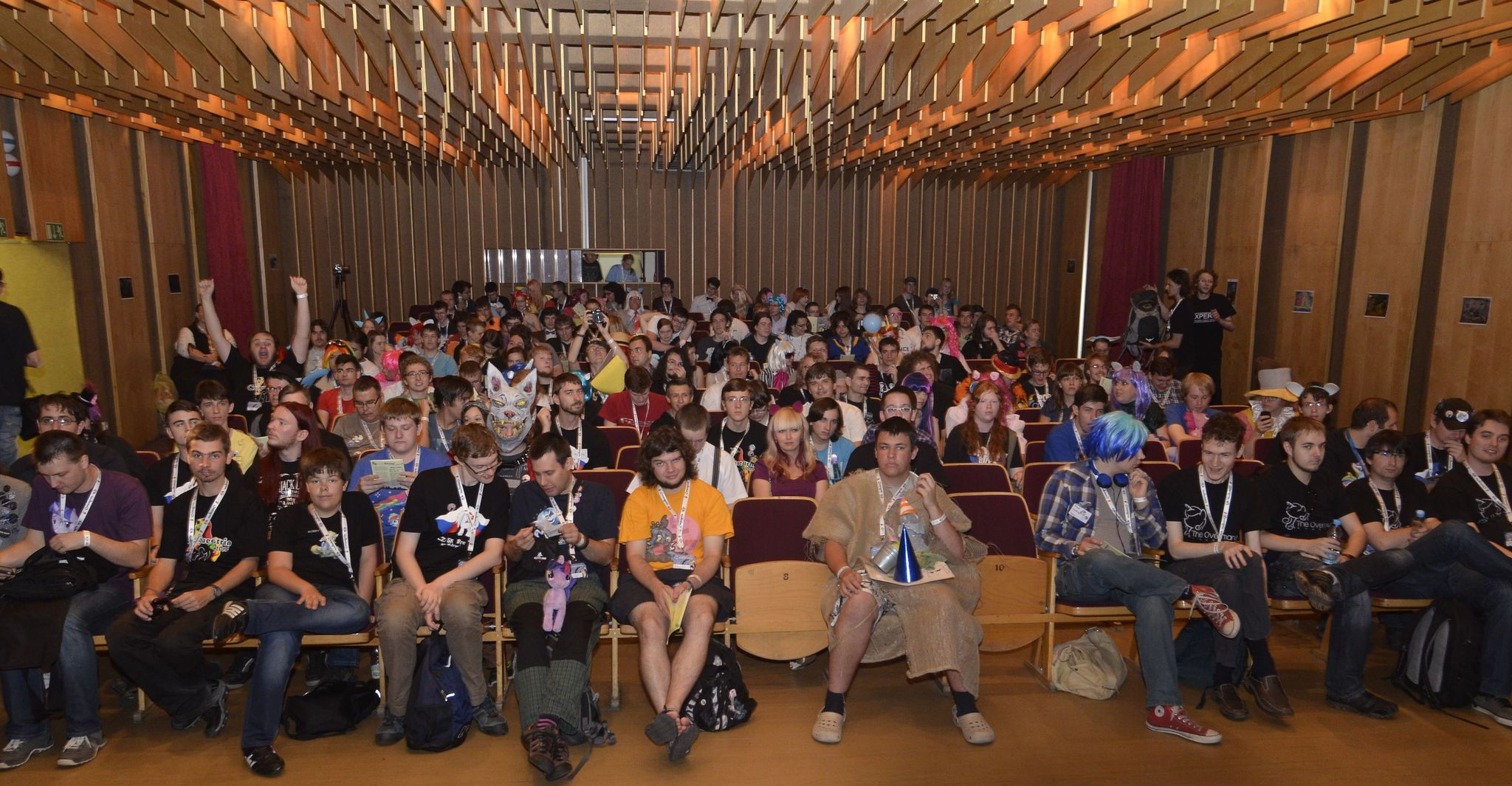 Czequestria 2014 – mane hall