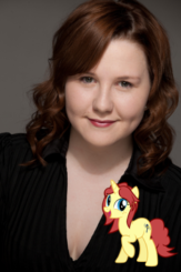 Eile Monty and her MLP OC