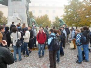 Sraz před začátkem na Palackého náměstí